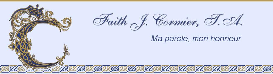 Faith J. Cormier, T.A.